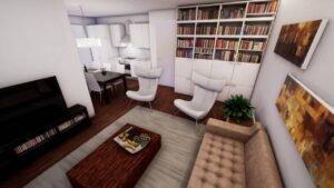 Lucenti living room